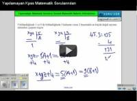KPSS Rasyonel Sayılar – Yapılamayan Soruların Çözümü