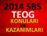 2014 SBS 1.Sınav Konuları (TEOG 2014)