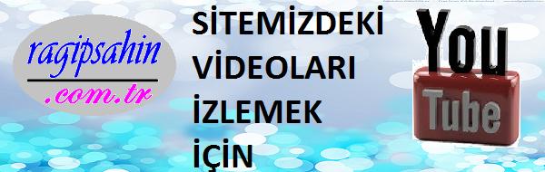 Sitemizdeki videoları izleyebilmek için…