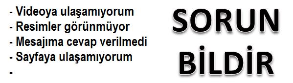 SORUN BİLDİR