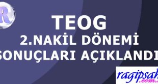 NAKİL-SONUÇLARI